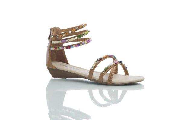 Bruna sandaler, Day från Caribbyshoes
