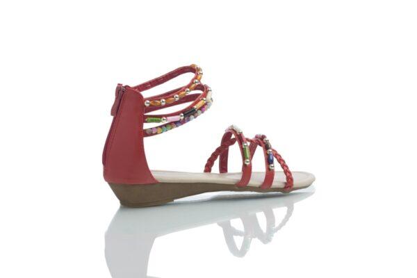 Produktbild sandal Day i rött